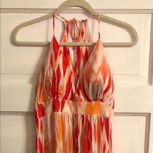 Athleta Ikat Maxi Dress